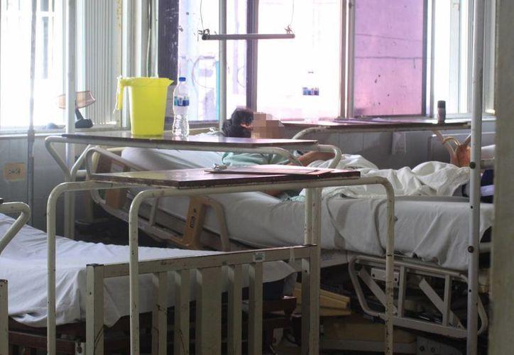 Señalan que en la entidad, por cada mil habitantes hay 1.4 camas de hospital. (Luis Soto/SIPSE)
