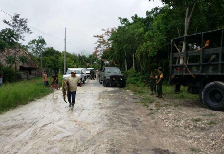 La comunidad othonense ya se ha recuperado de los daños causados por las anegaciones de hace cuatro meses, particularmente luego de la intervención de autoridades, que brindaron el auxilio. (Edgardo Rodríguez/SIPSE)