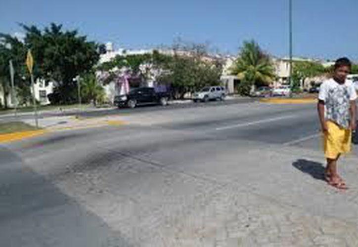 Resaltarán los cruces para peatones con diseños llamativos y vistosos. (Reacción)