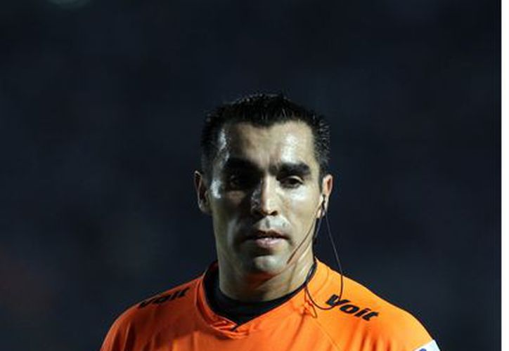 Marco Antonio Rodríguez es árbitro Internacional desde el 2000. (Foto: Agencia Reforma)