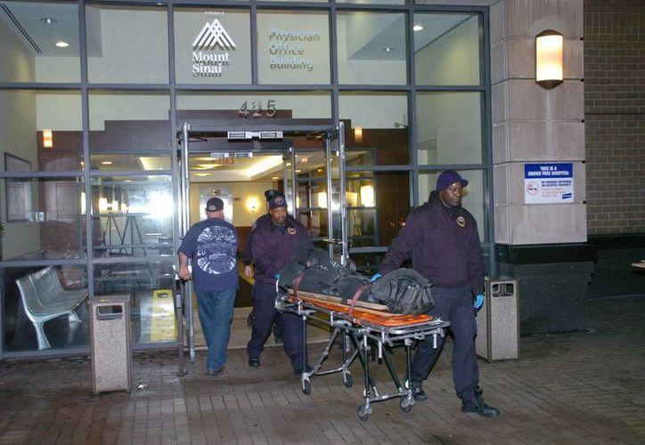 Dmitriy Kanarikov, que fue declarado muerto en el lugar, no había amenazado con hacer daño a su pequeño hijo. (Agencias)