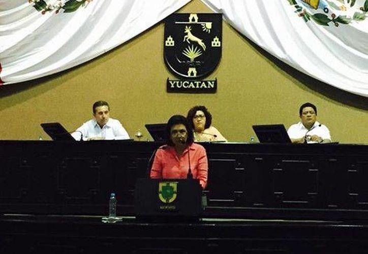 La diputada Sofía Castro Romero reconoció que los diputados tienen mala imagen ante la opinión pública. (SIPSE)