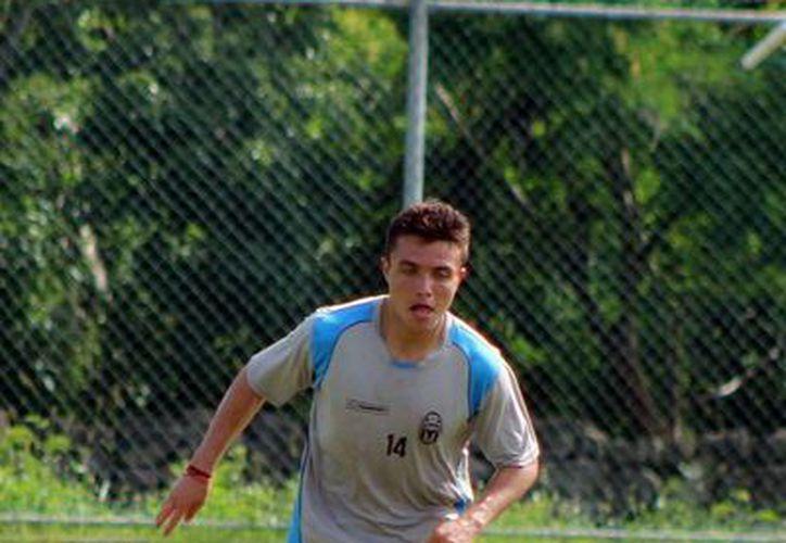 Stringel dice que supo del CF Mérida por otros compañeros que tuvo. (Milenio Novedades)