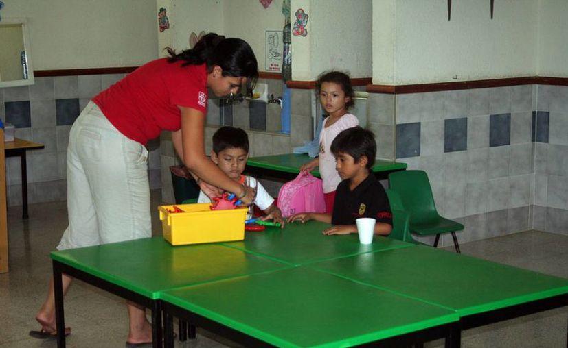 La mayoría de los 10 Centros de Desarrollo Infantil que hay en Mérida se localizan en el sur de la ciudad. (Milenio Novedades)