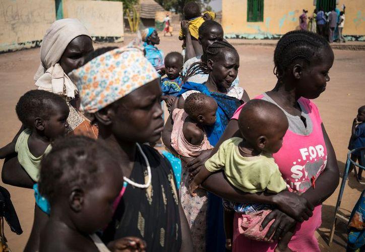 La Organización de Naciones Unidas (ONU) evaluó en 100 mil el número de personas directamente amenazadas. (AP).