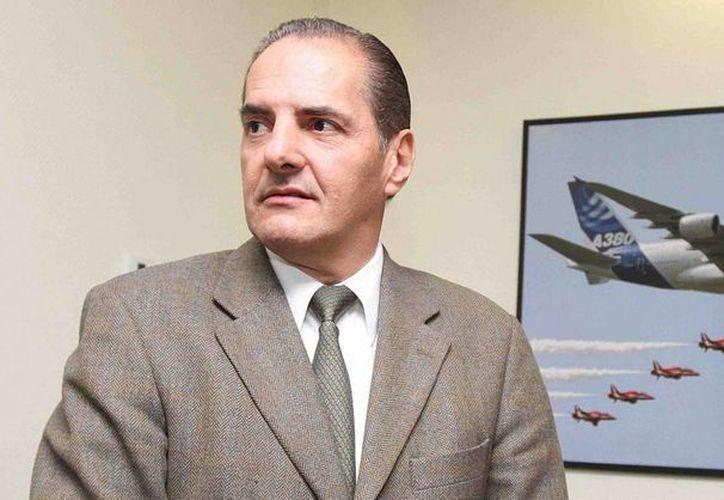 El director del Aeropuerto Internacional de la Ciudad de México (AICM), Alexandro Argudín, informó que el AICM se convertirá en el primero en América Latina en recibir en operaciones regulares al A380 -el avión más grande del mundo-.  (Notimex)