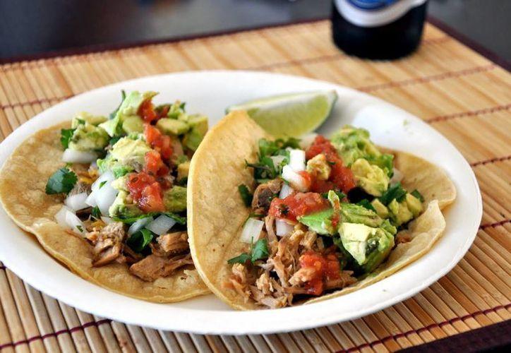 Entre los platillos que serán expuestos se encuentran los tacos, tostadas, salbutes, enchiladas, entre otros. (Foto de Contexto/Internet)