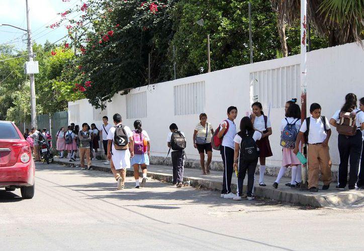 Ofrecerán a los alumnos nuevos tipos de aprendizaje en el siguiente período escolar. (Joel Zamora/SIPSE)