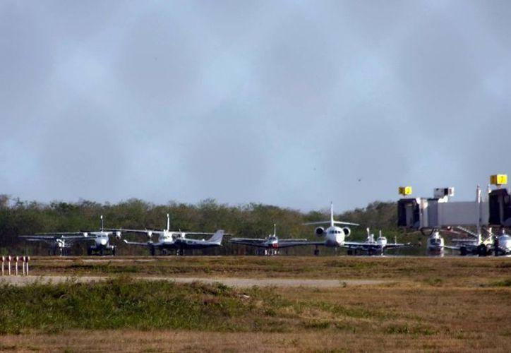 Asur ha reforzado las medidas de seguridad en el aeropuerto. (Milenio Novedades)