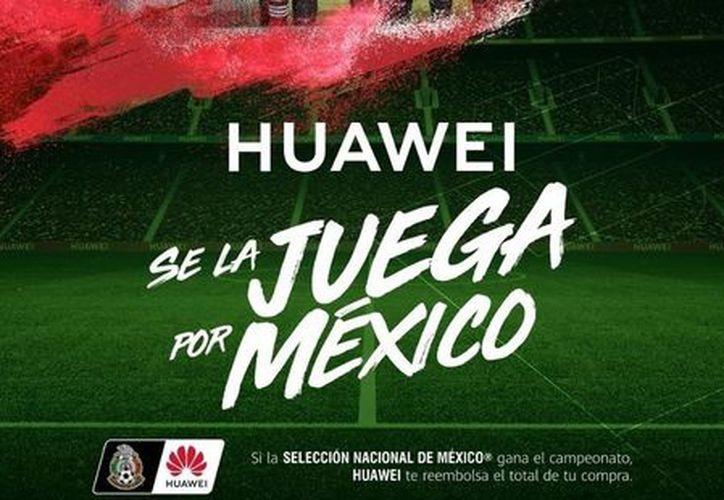 La empresa china invita a los usuarios a que crean en la selección mexicana. (Internet)