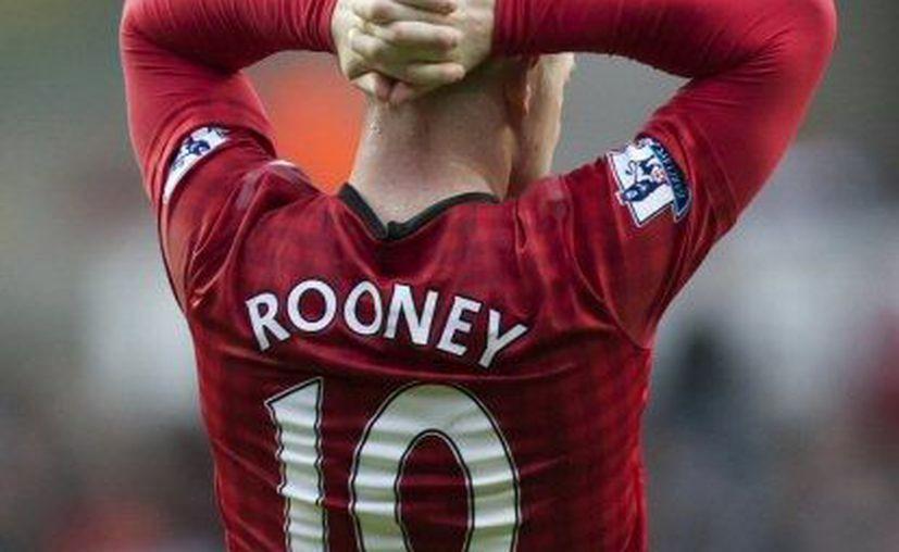 El delantero del Manchester, Wayne Rooney. (Agencias)