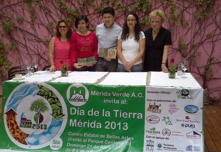 'Mérida Verde' creando conciencia por la conservación del planeta. (Martha Chan/SIPSE)