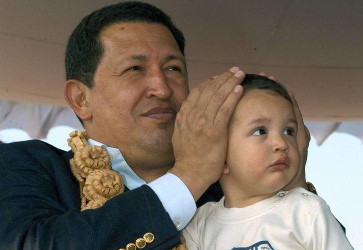 Hugo Chávez Frías murió hoy a las 4:25 de la tarde en Caracas. (Agencias)
