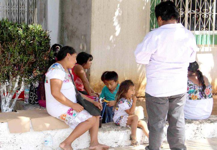 Por costumbres familiares, las personas no realizan los trámites correspondientes para registrar a sus hijos.