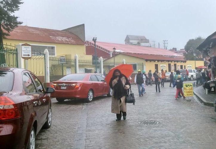 El SMN prevé temperaturas de 0 a 5 grados Celsius en áreas altas de Chihuahua, Durango, Michoacán, Estado de México, Puebla, Tlaxcala e Hidalgo. (Archivo/Notimex)