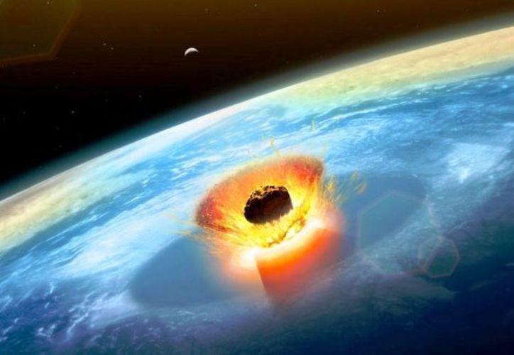 El asteroide impactó en Chicxulub hace 66 millones de años. (Foto: contexto Internet)