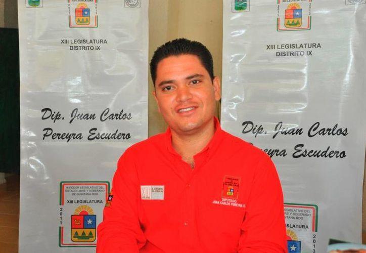 Juan Carlos Pereyra Escudero presentará su licencia. (Adrián Barreto/SIPSE)