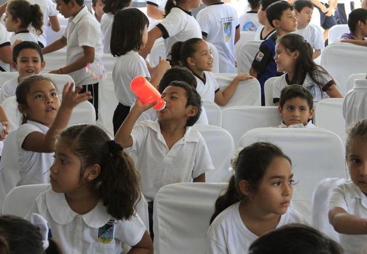 El plantel educativo Hellen Keller en Chetumal mantiene una matrícula de atención de 95 niños especiales. (Ángel Castilla/SIPSE)