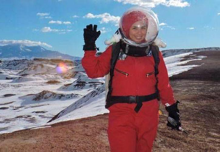 Con 32 años de edad, Carmen Victoria Féliex Chaidez es un orgullo para su familia y para México. (Fotos: www.conacytprensa.mx)