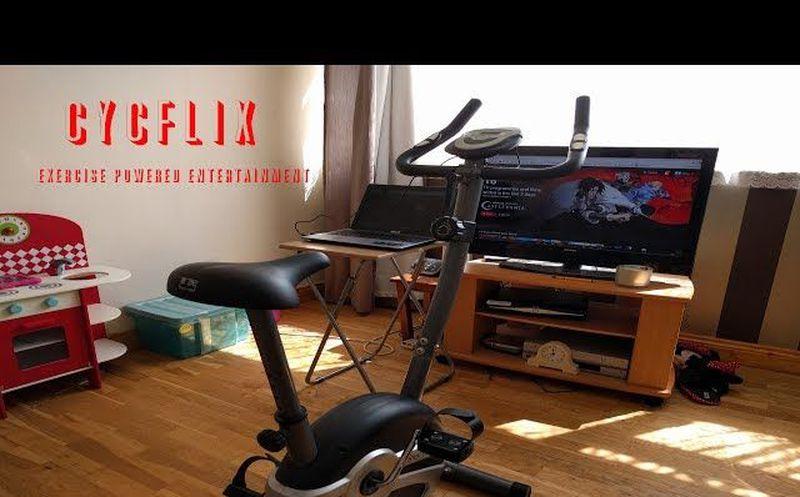 La bicicleta que detiene la película en Netflix si no pedaleas — COLOMBIA