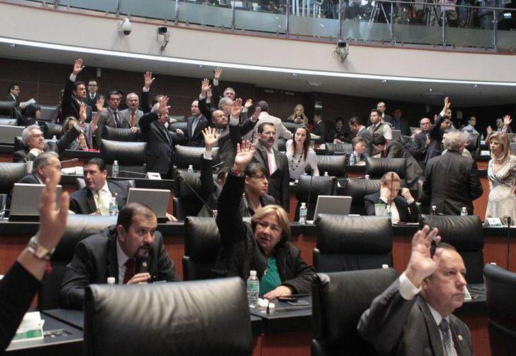 La mesa directiva del Senado verificará el quórum en el pleno cada hora. (Notimex)