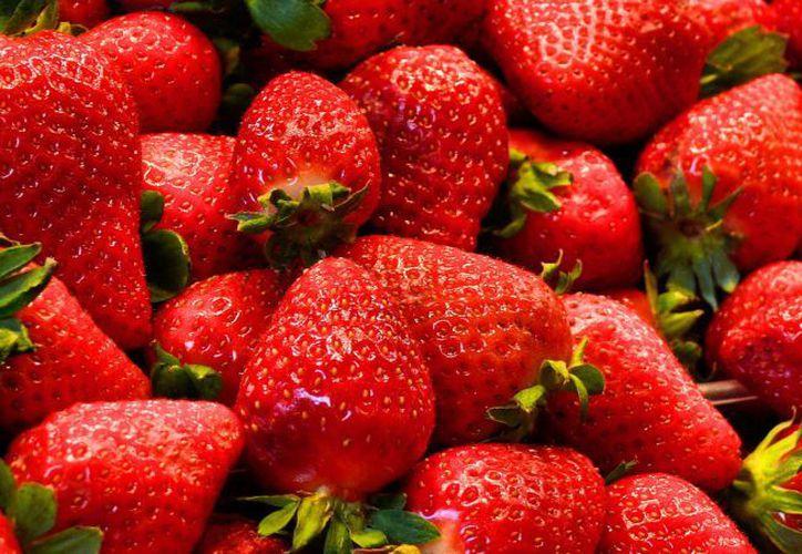 Las fresas tienen un alto contenido de potasio. (Contexto/Internet)