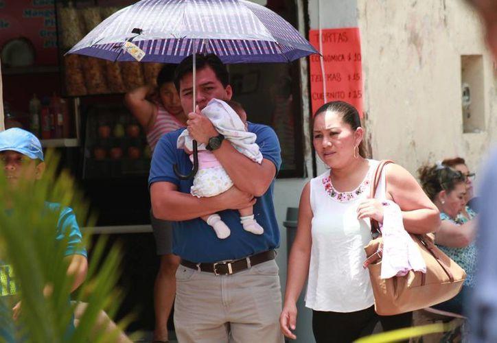 Según la Conagua, este domingo en Yucatán hará calor y podría llover en la tarde. (Jorge Acosta/Milenio Novedades)
