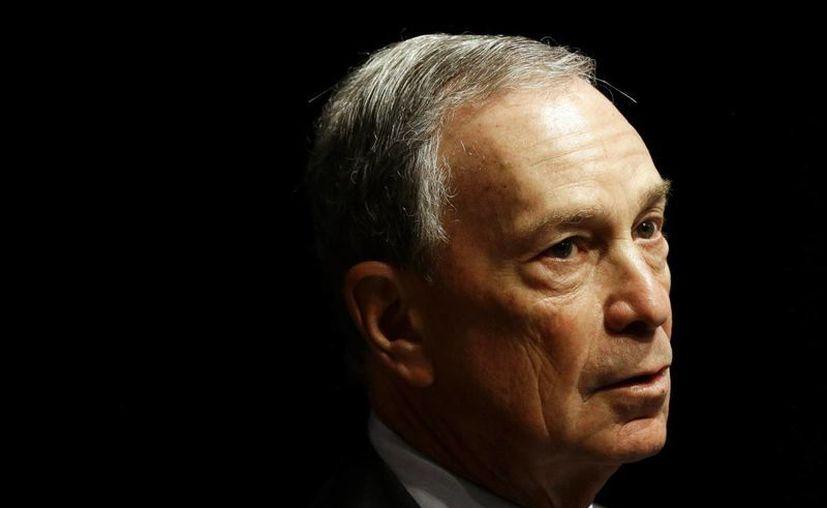 Michael Bloomberg, alcalde de Nueva York, en imagen de enero pasado. (AP)