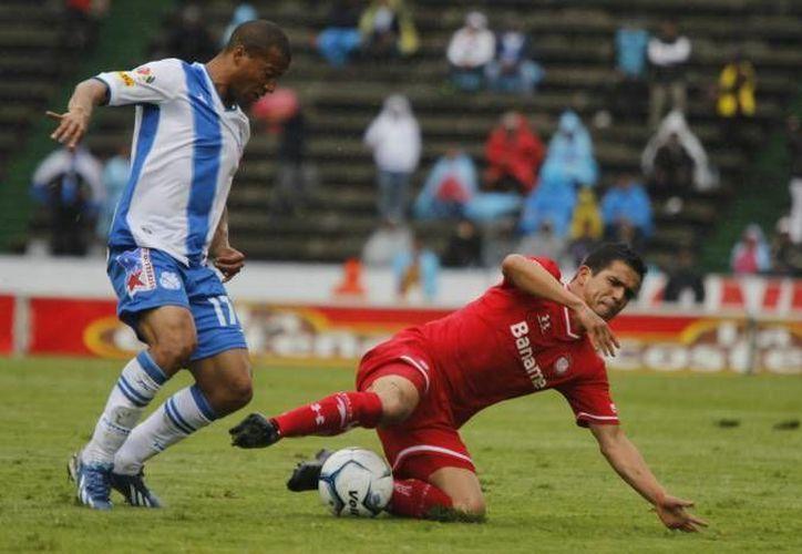 Los goles del Toluca fueron de Edgar Benítez, Raúl Nava y Erbin Trejo. (Notimex)