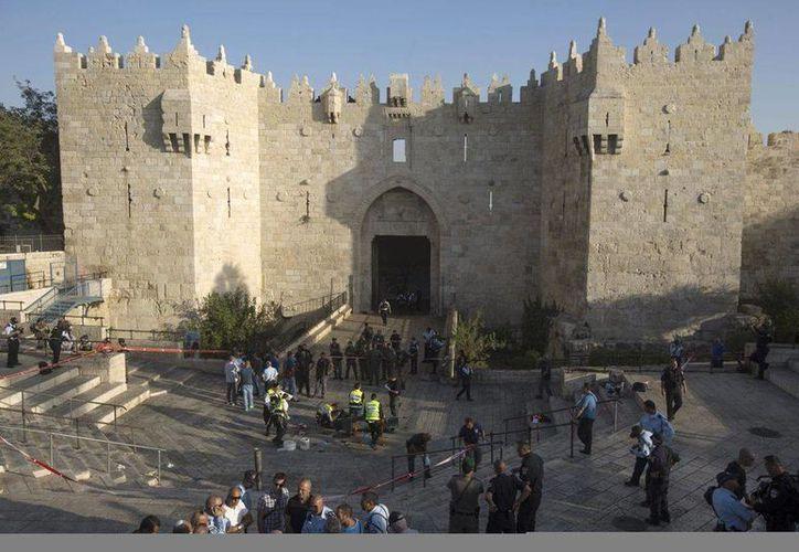 La Puerta de Damasco es una de las principales entradas a la ciudad vieja de Jerusalén, uno de los principales atractivos turísticos de Israel. (EFE)
