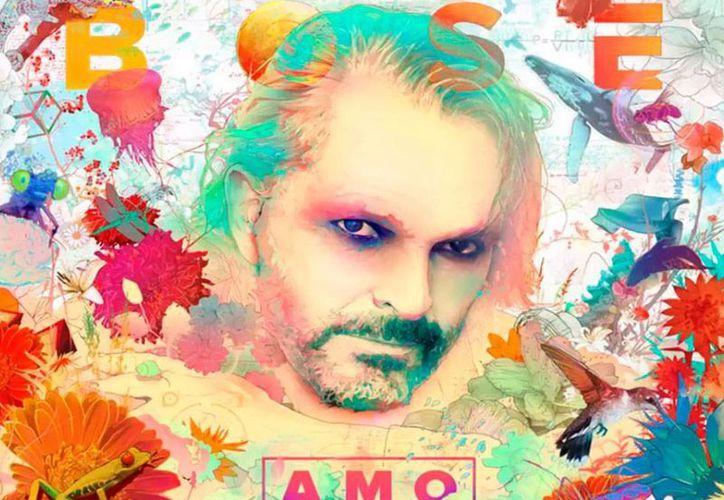 Portada del nuevo disco de Miguel Bosé, 'Amo'. El audio del primer sencillo 'Encanto' ya puede escucharse en el canal oficial de Warner Music, en YouTube. (Captura de pantalla)