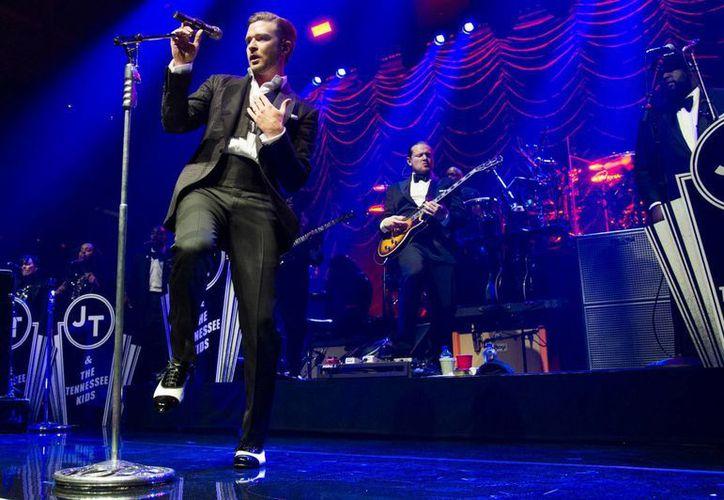 Justin Timberlake fue demandado este jueves por el Cirque du Soleil alegando que el cantante utilizó composiciones suyas sin permiso alguno. (Archivo AP)