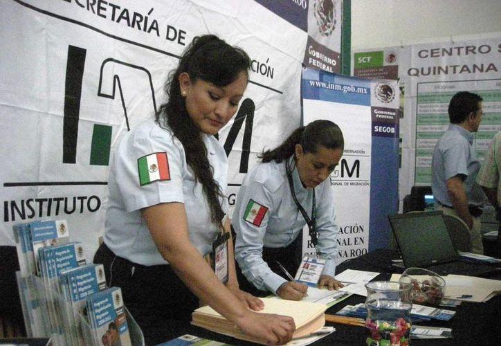 Los extranjeros de origen centroamericano son quienes optan por pedir al INM ser repatriados. (Octavio Martínez/SIPSE)