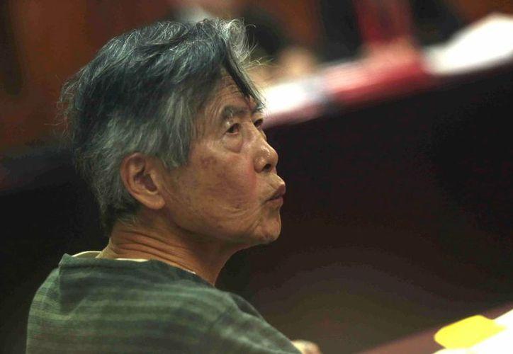 Fujimori cumple una sentencia de 25 años de cárcel por diversos delitos. (EFE)