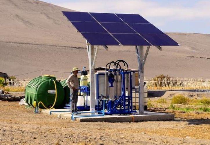 En otros países, como Chile, ya se utiliza tecnología basada en membranas. (soychile.cl)