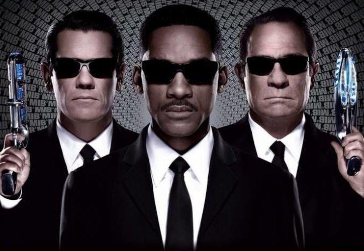 La tercera y más reciente cinta sobre los Hombres de Negro fue estrenada el año pasado. (Milenio)