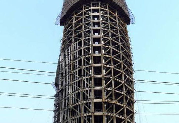 El edificio fue diseñado por el arquitecto Zhou Qi. (EFE)