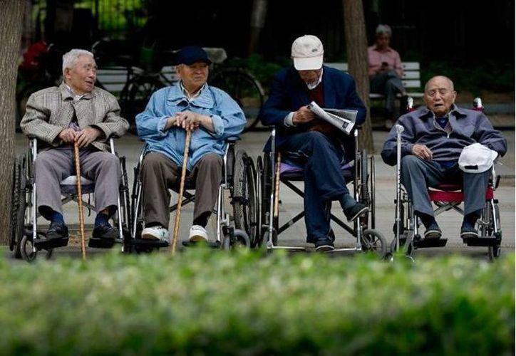 Unos 195 millones de chinos tienen más de 60 años de edad. (Archivo/AP)
