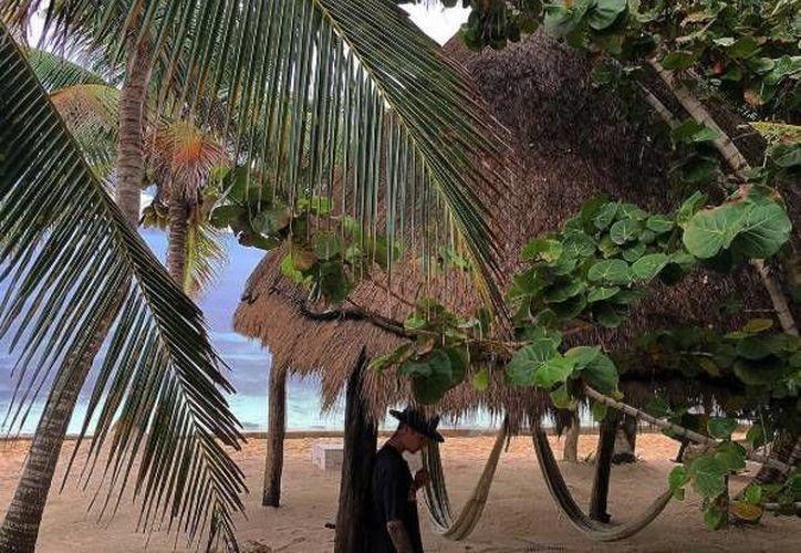 Justin publicó en su cuenta de Instagram algunas fotografías de sus vacaciones en la Riviera Maya. (Instagram)