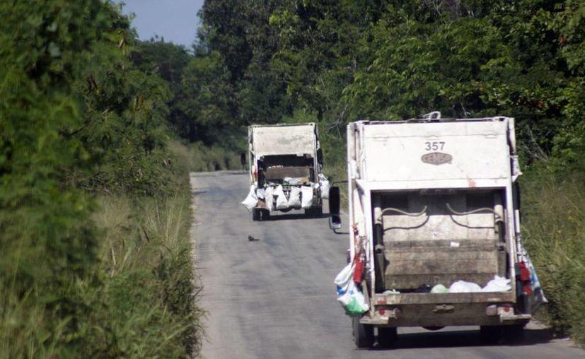 En el estado se producen 1,800 toneladas diarias de residuos sólidos urbanos. (Archivo/SIPSE)