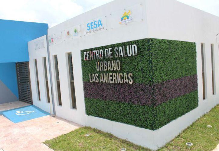 El Centro de Salud en Las América reportó 95% de avance, mismo que beneficiará a cinco mil habitantes. (Joel Zamora/SIPSE)