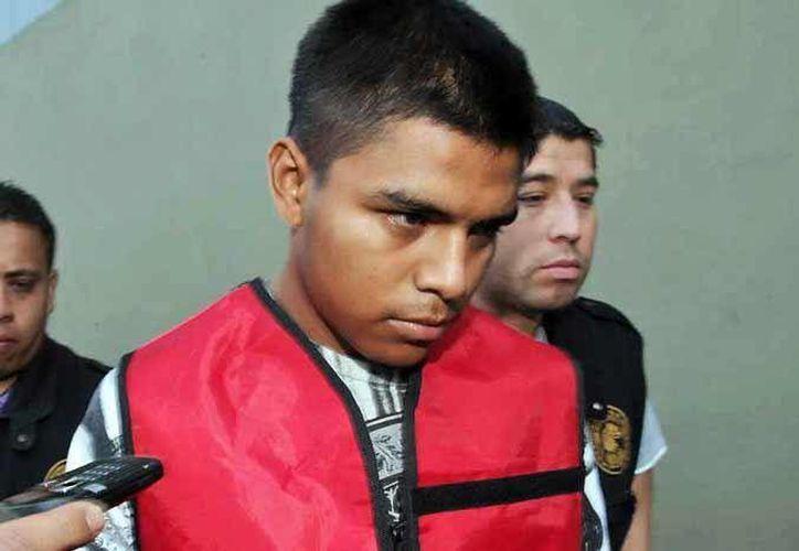 Axel Antuán Landeros Reyes reconoció que se llevó al niño con engaños.  (facebook.com/elnortecom)