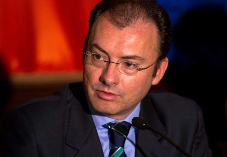 Luis Videgaray, Titular de Hacienda. (Notimex)