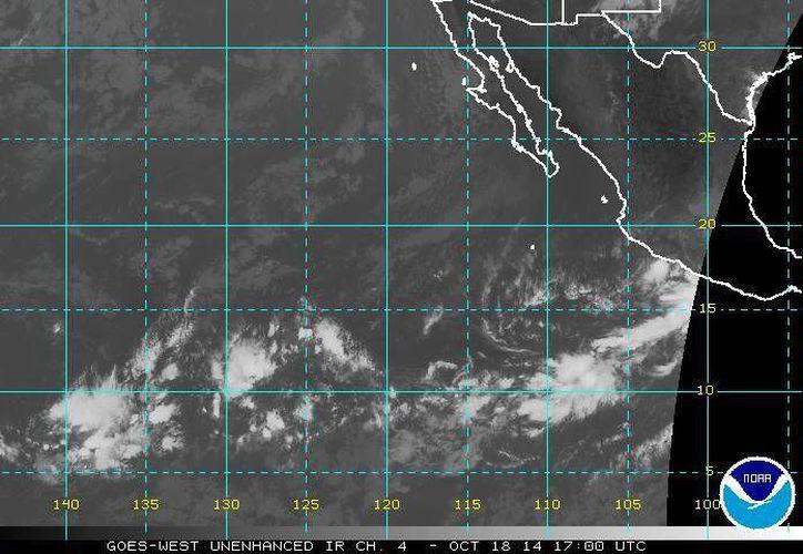 La tormenta tropical Trudy sostiene vientos de 75 kilómetros por hora.  (ssd.noaa.gov)
