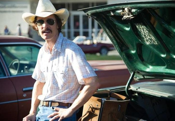 En Dallas Buyers Club, McConaughey da vida a Ron Woodroof, portador de HIV. (Agencias)