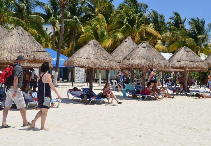 Después de la gran cantidad de visitantes que tuvo la isla, se dicen listos para el Tianguis Turístico 2014. (Redacción/SIPSE)