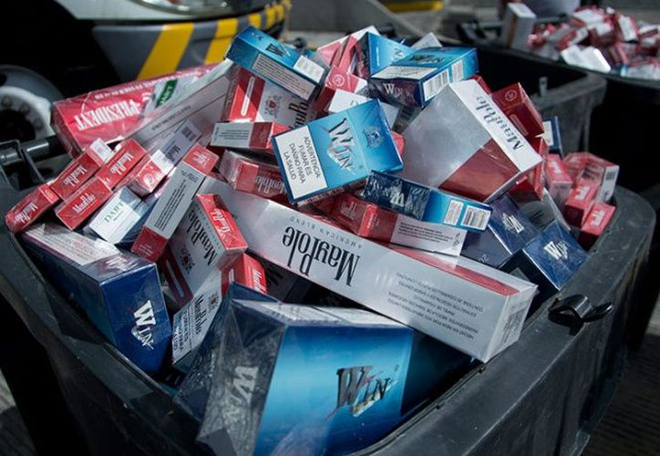 Queda prohibido la alteración de cualquier producto del tabaco. (excelsior.com)