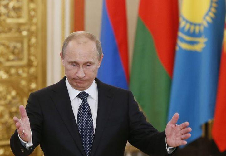 El mandatario ruso superó a figuras como Angela Merkel y Barack Obama. (Agencias)