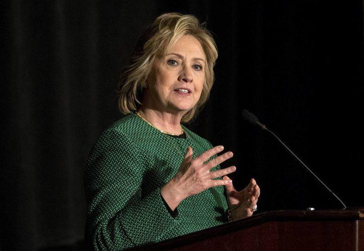Hillary Clinton volverá a intentar cumplir el sueño confeso de su vida, ser presidenta de EU. (Archivo/EFE)