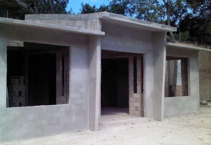 La construcción de locales es una petición por parte de los internos. (Eric Galindo/SIPSE)